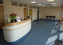 Vale Veterinary Group, Honiton - Reception & Seating Area