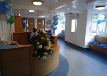 The Wheelhouse Veterinary Surgery, Chalfont St Giles - Reception and seating area