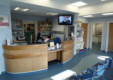 Barton Lodge Veterinary Centre - Reception Area
