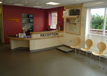 Kingston Veterinary Group, Hull - Main Reception